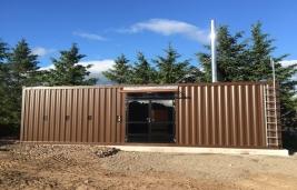 Smart Cabin 220 kW, CS Tractor Plant