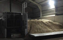 Smart Wood Chips Dryer