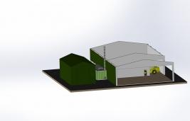 Smart Wood Chips Dryer_3D_5