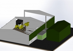 Smart Wood Chips Dryer_3D_1
